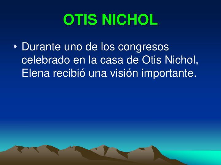 OTIS NICHOL