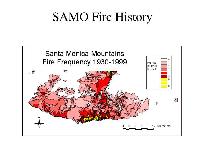 SAMO Fire History
