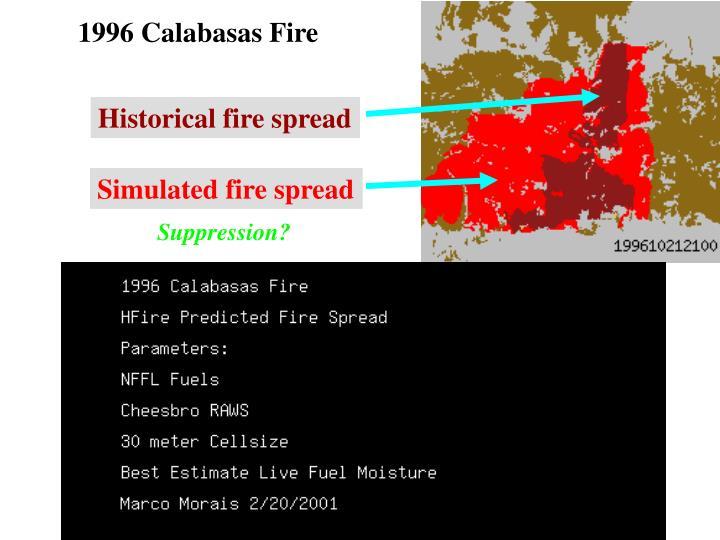 1996 Calabasas Fire