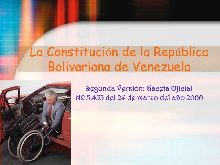 La Constituci
