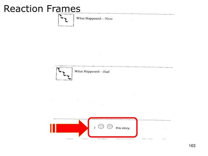 Reaction Frames