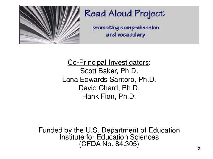 Co-Principal Investigators