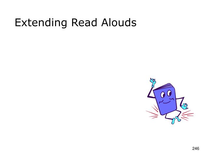 Extending Read Alouds