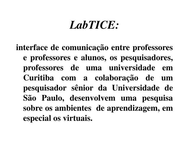 LabTICE: