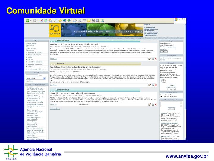 Comunidade Virtual
