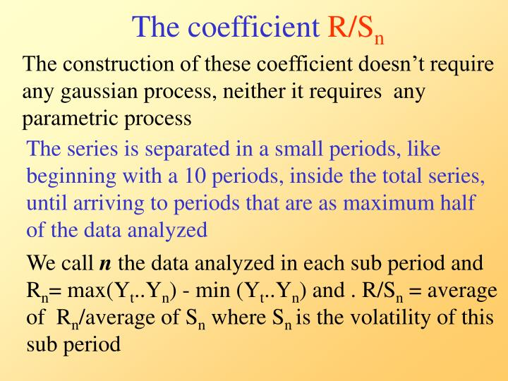 The coefficient
