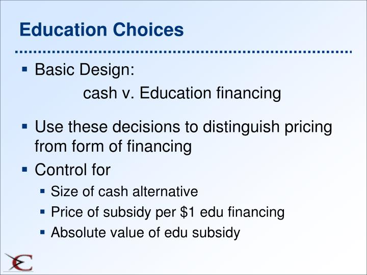 Education Choices