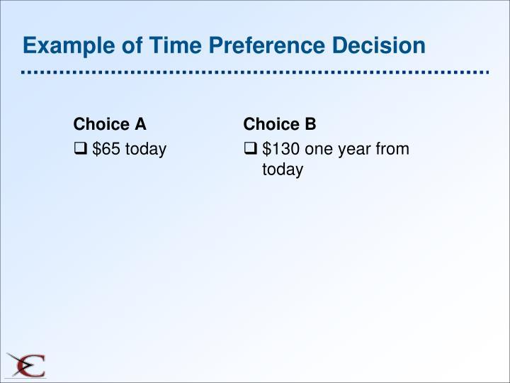 Choice A