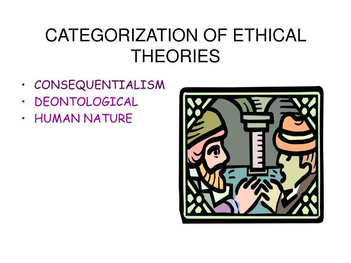 CATEGORIZATION OF ETHICAL THEORIES