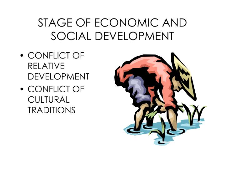 STAGE OF ECONOMIC AND SOCIAL DEVELOPMENT