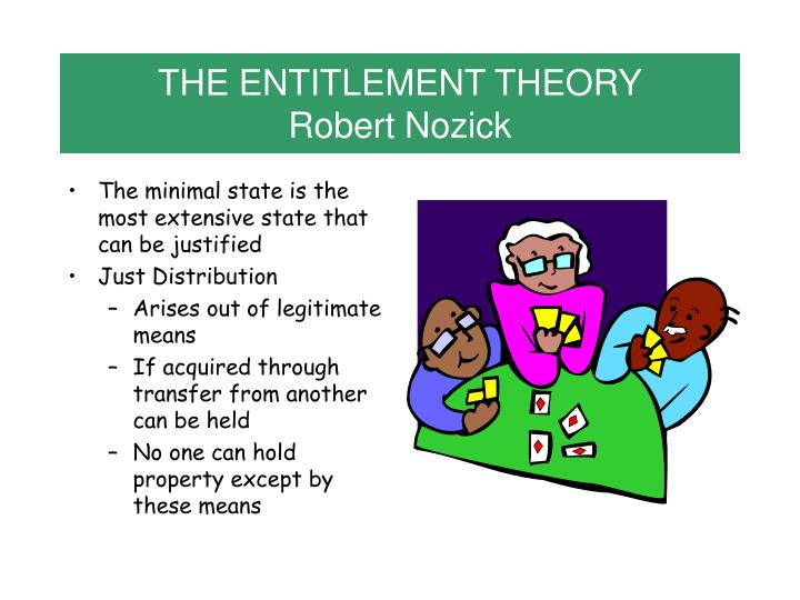 THE ENTITLEMENT THEORY