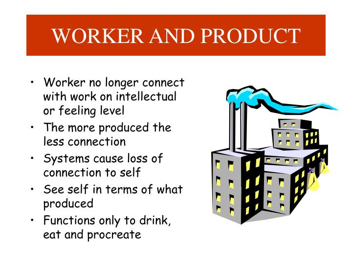 WORKER AND PRODUCT