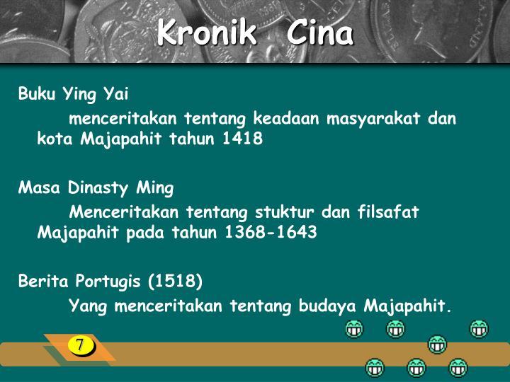 Kronik  Cina