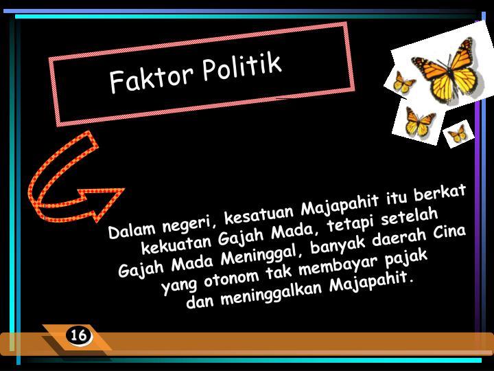 Faktor Politik