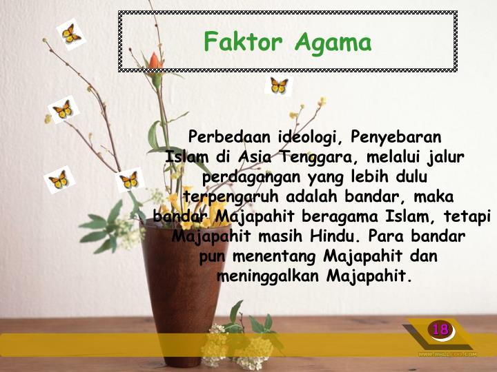 Faktor Agama