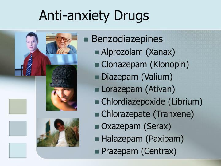 Anti-anxiety Drugs