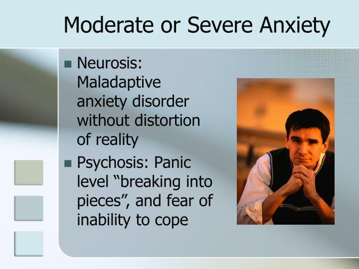 Moderate or Severe Anxiety