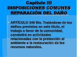 cap tulo iii disposiciones comunes reparaci n del da o8