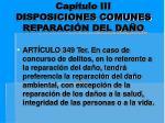 cap tulo iii disposiciones comunes reparaci n del da o9