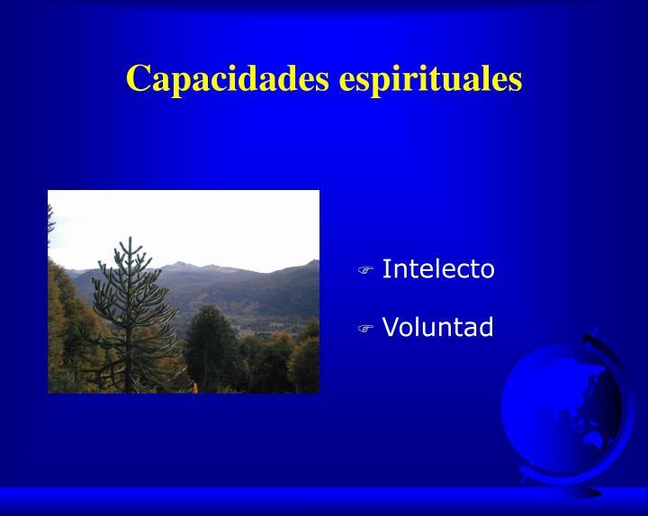 Capacidades espirituales