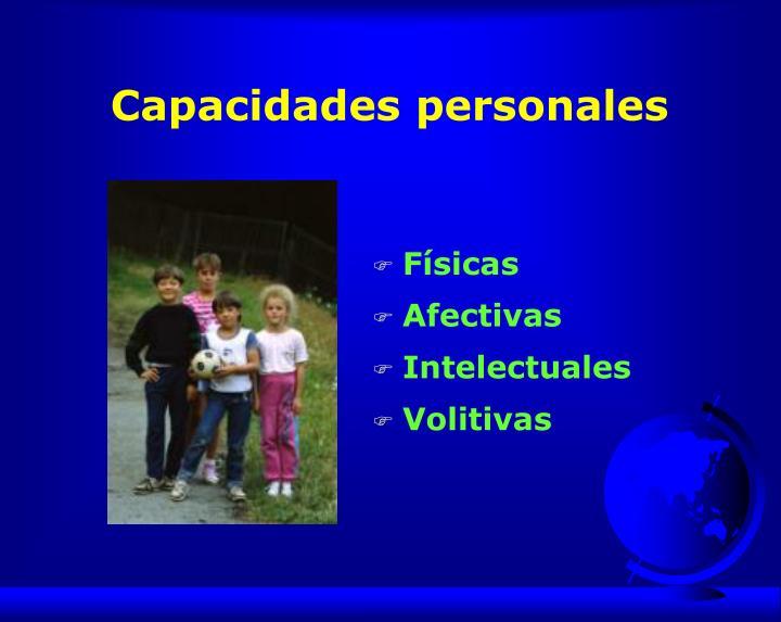 Capacidades personales