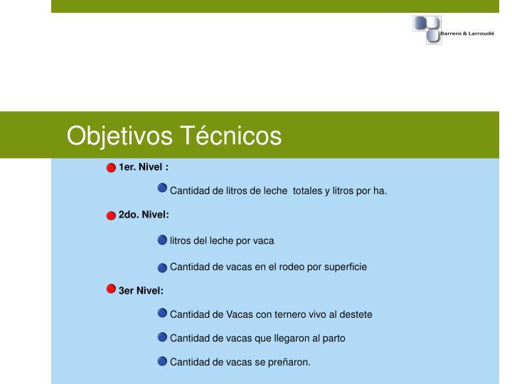 Objetivos Técnicos