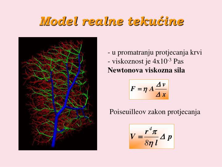 Model realne tekućine