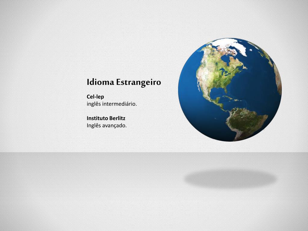 Idioma Estrangeiro