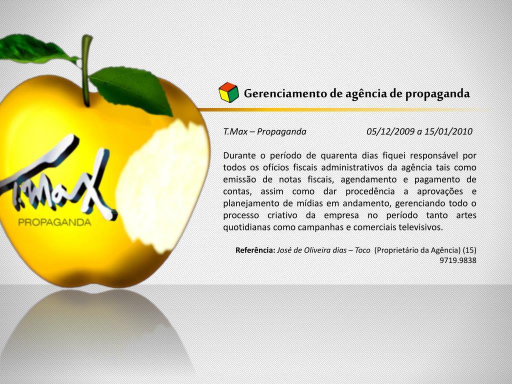Gerenciamento de agência de propaganda