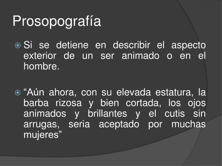 Prosopografía