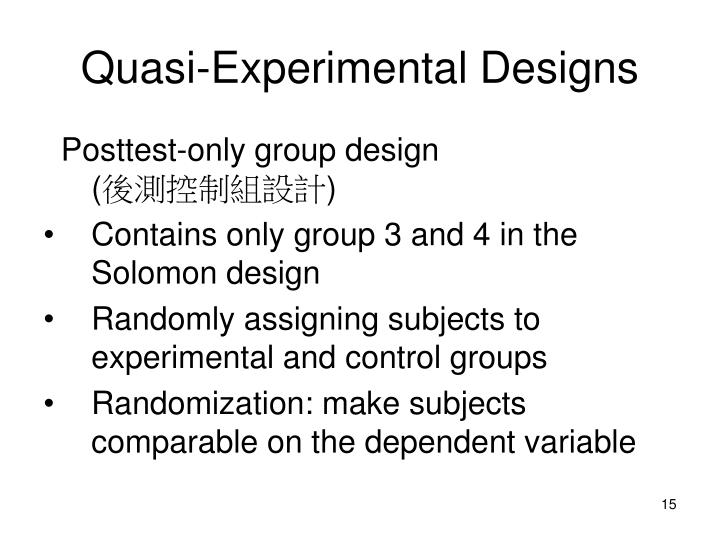 PPT - Experimental Research ( 實驗法 ) PowerPoint ...