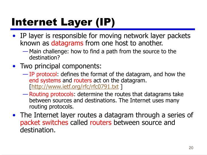 Internet Layer (IP)