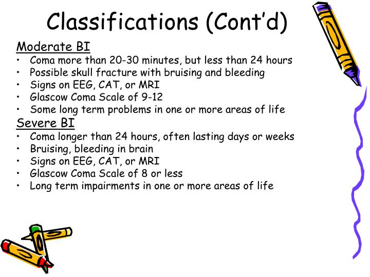 Classifications (Cont'd)