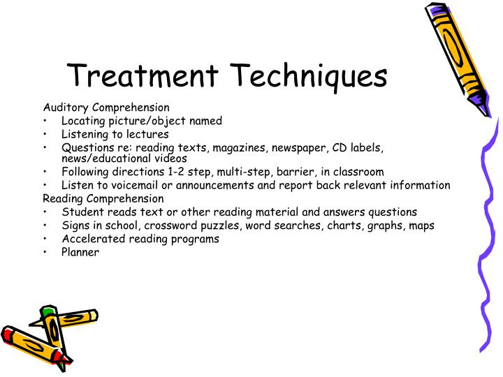 Treatment Techniques