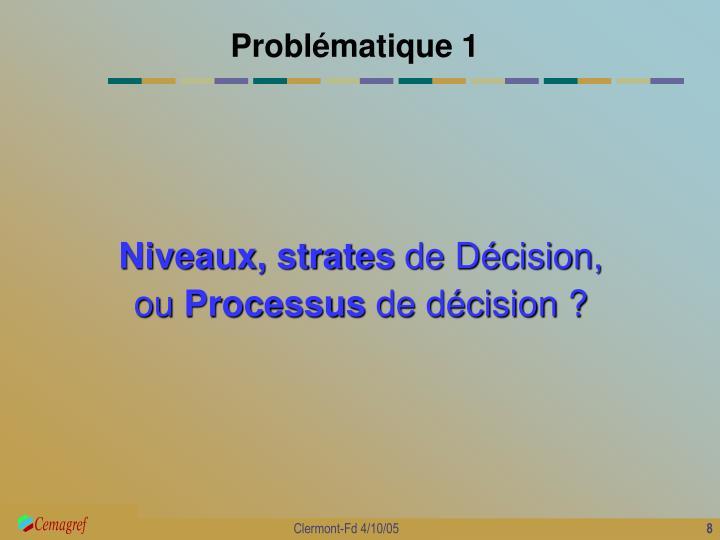 Problématique 1