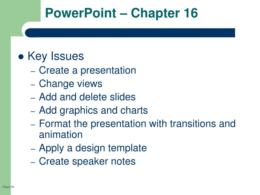 PowerPoint – Chapter 16