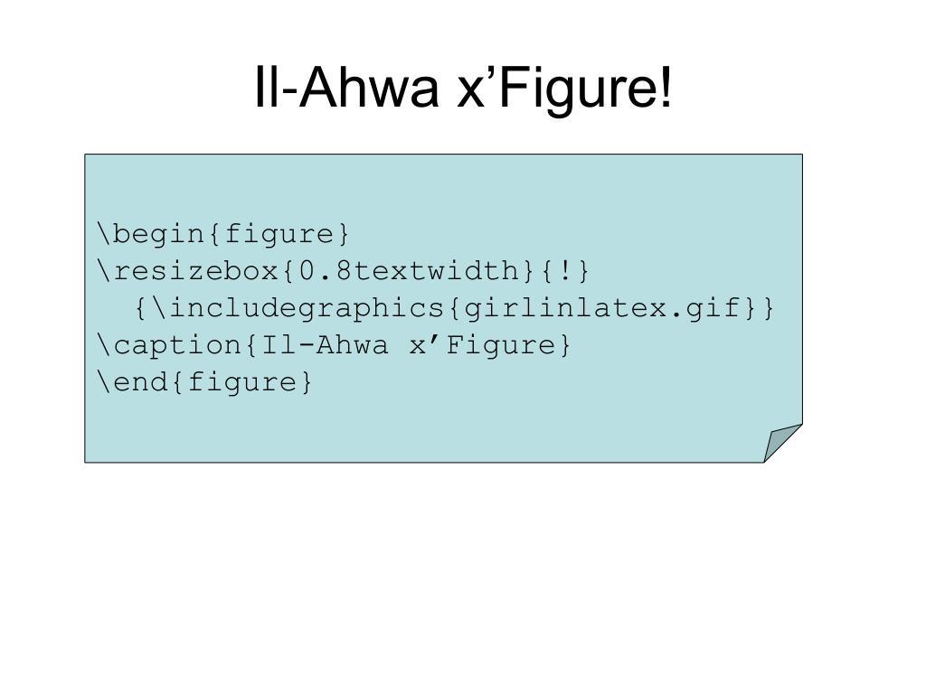 Il-Ahwa x'Figure!
