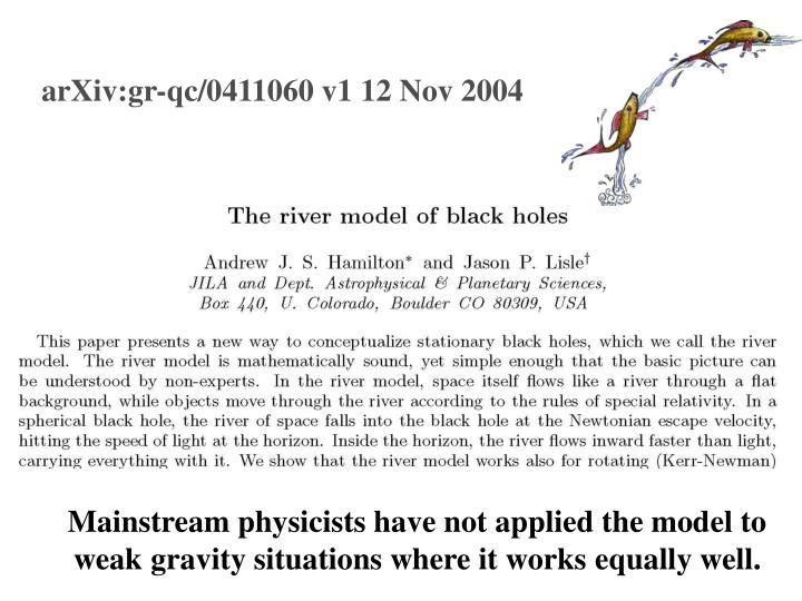 arXiv:gr-qc/0411060 v1 12 Nov 2004