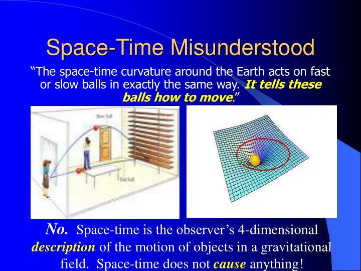 Space-Time Misunderstood