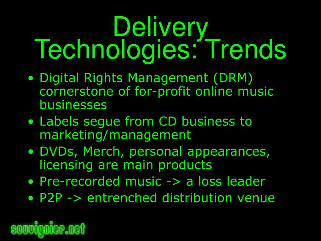 Delivery Technologies: Trends
