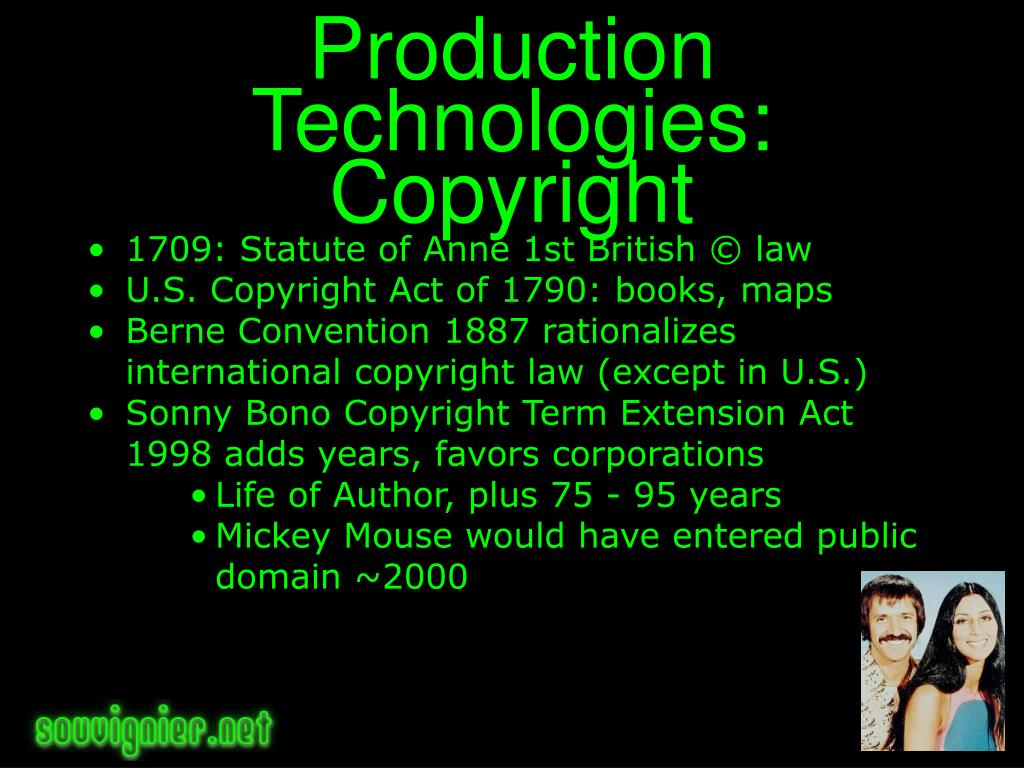 Production Technologies: Copyright