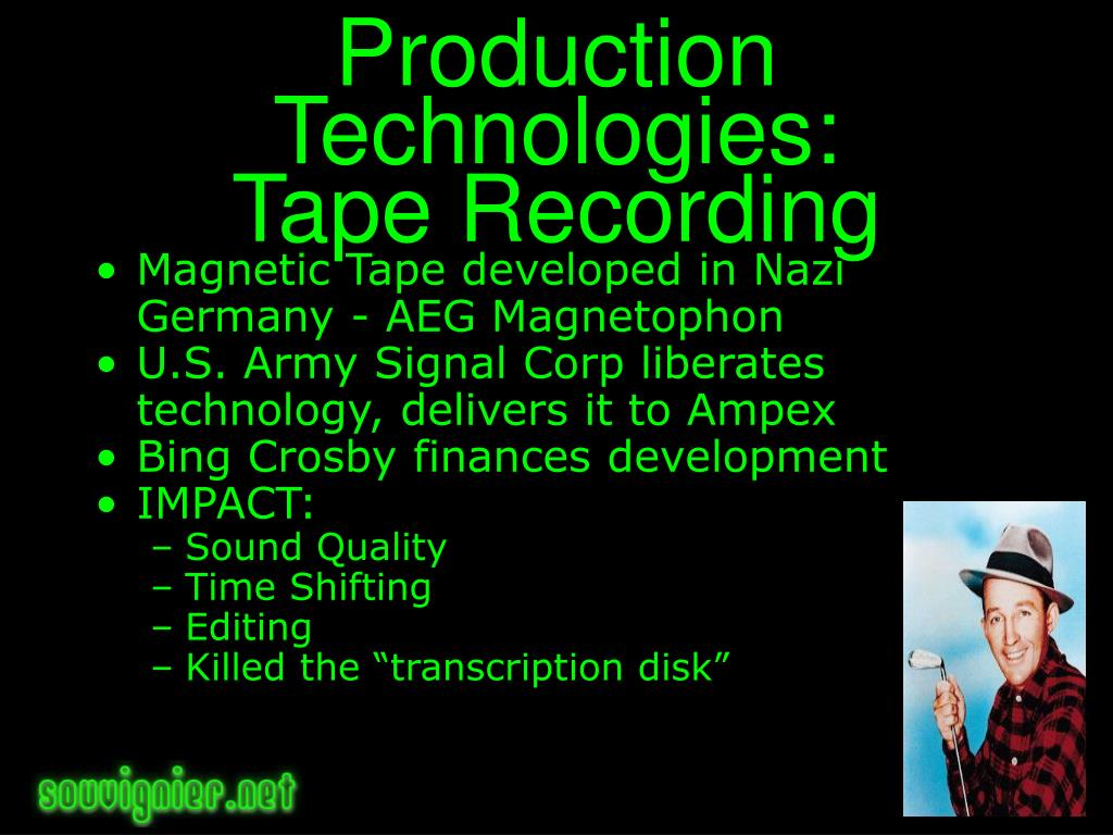 Production Technologies: