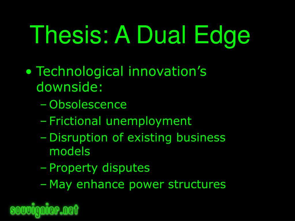 Thesis: A Dual Edge