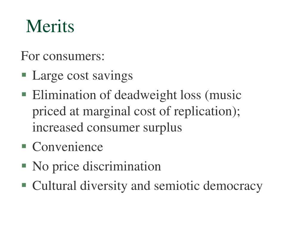 Merits