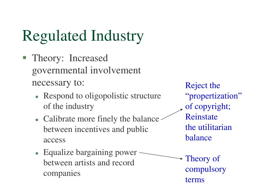 Regulated Industry
