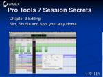 pro tools 7 session secrets