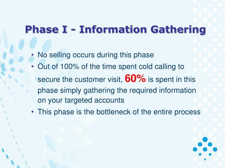Phase I - Information Gathering