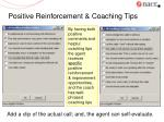 positive reinforcement coaching tips