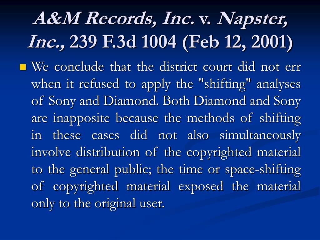 A&M Records, Inc.