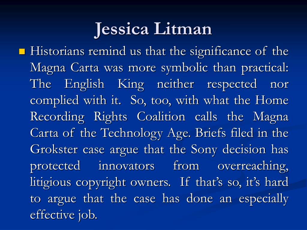 Jessica Litman